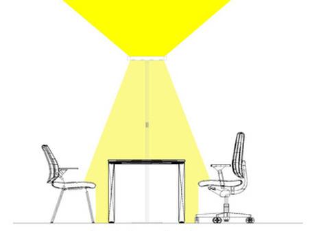Illuminazione ambiente lavoro illuminare sistarastrea - Rischi in cucina ppt ...